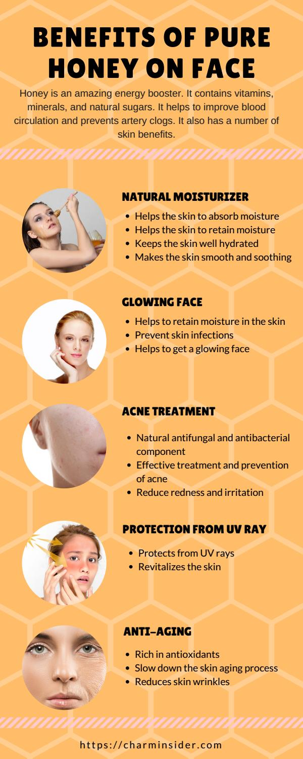benefits of pure honey on face l honey uses on face