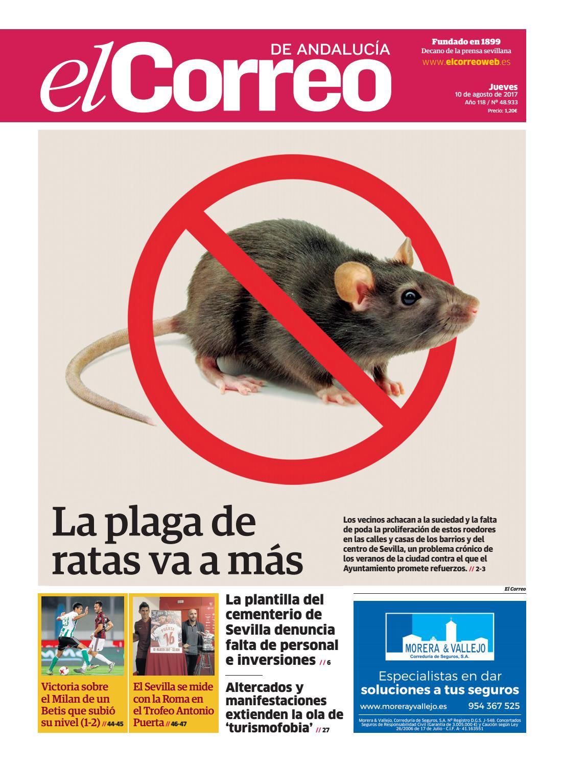 10.08.2017 El Correo de Andalucía by EL CORREO DE ANDALUCÍA S.L. - issuu