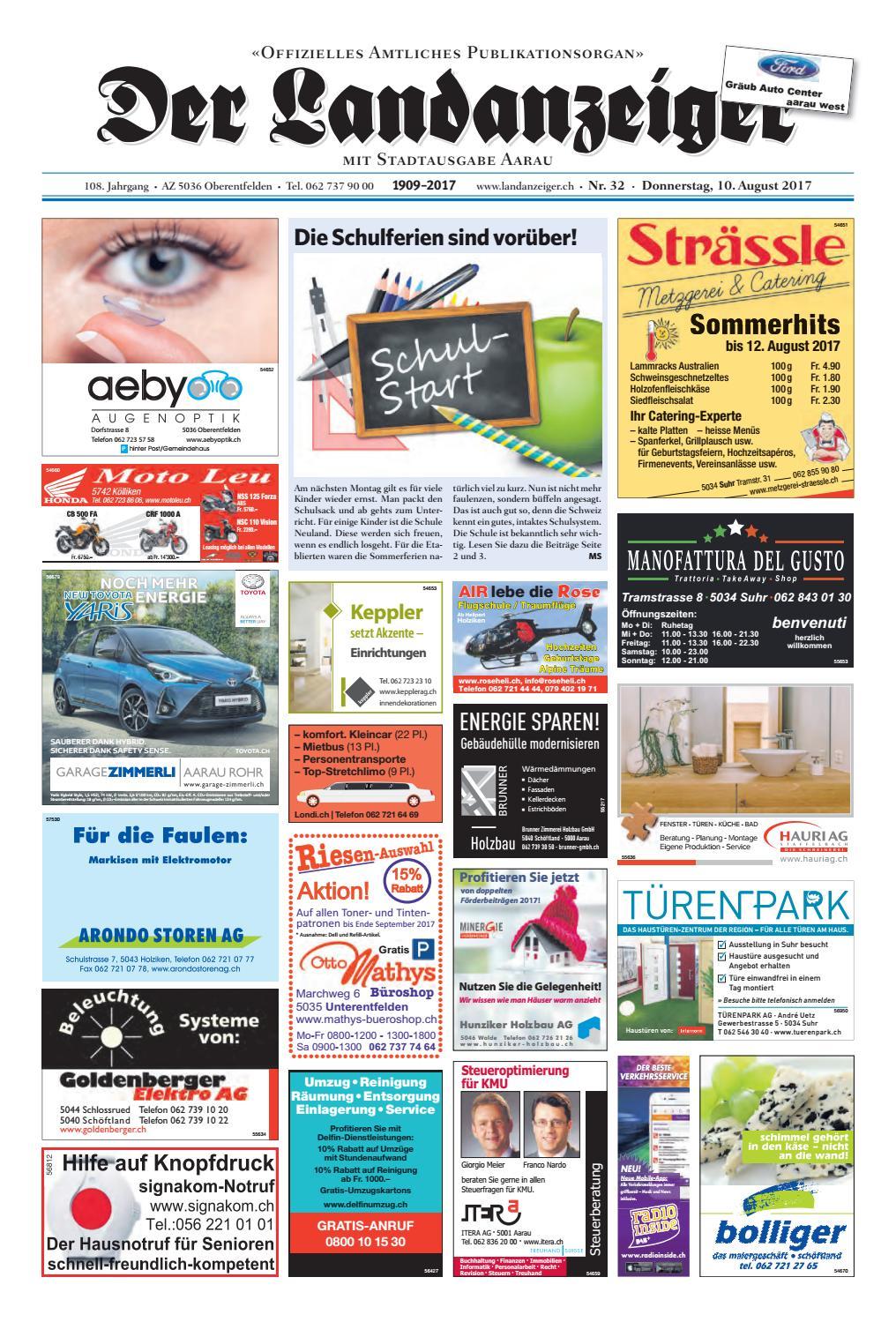 Der Landanzeiger 32 17 By ZT Me N AG Issuu