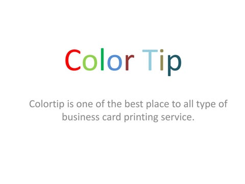 Flyers poster color bwbusiness card printing in gurgaon by color tip colortip is one of the best place to all type of business card printing service reheart Images
