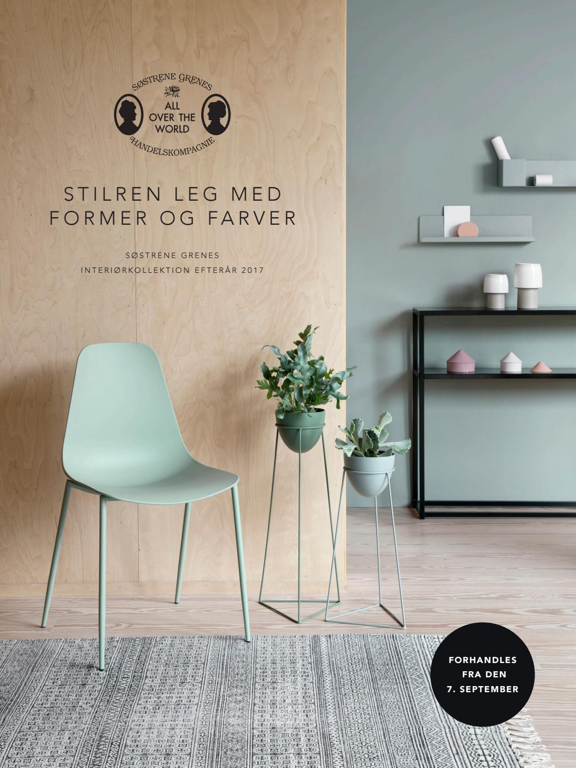 Picture of: Dk Sostrene Grenes Interiorkollektion Efterar 2017 By Sostrene Grene Issuu