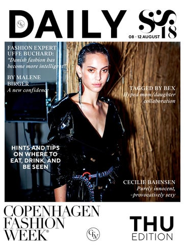 "1ce2169e19 DAILY FASHION EXPERT UFFE BUCHARD: ""Danish fashion has become more  intelligent"""
