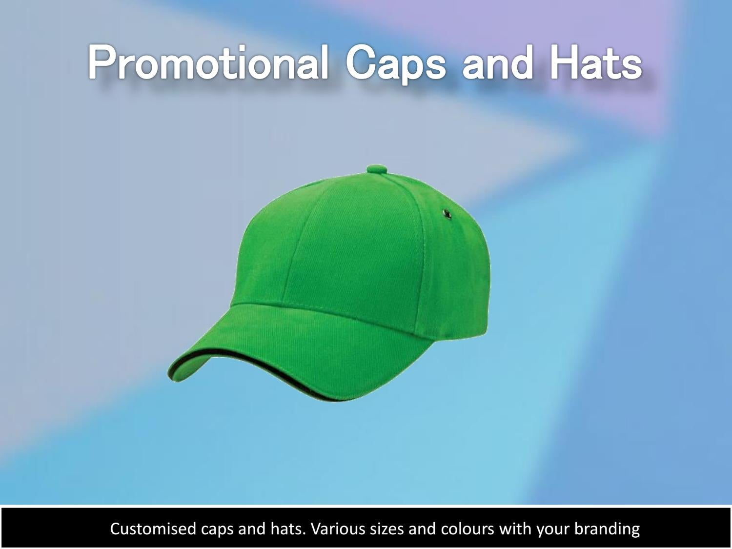 Promotional caps and hats chameleon print by Chameleon Print Group - issuu 524cae4bfbf