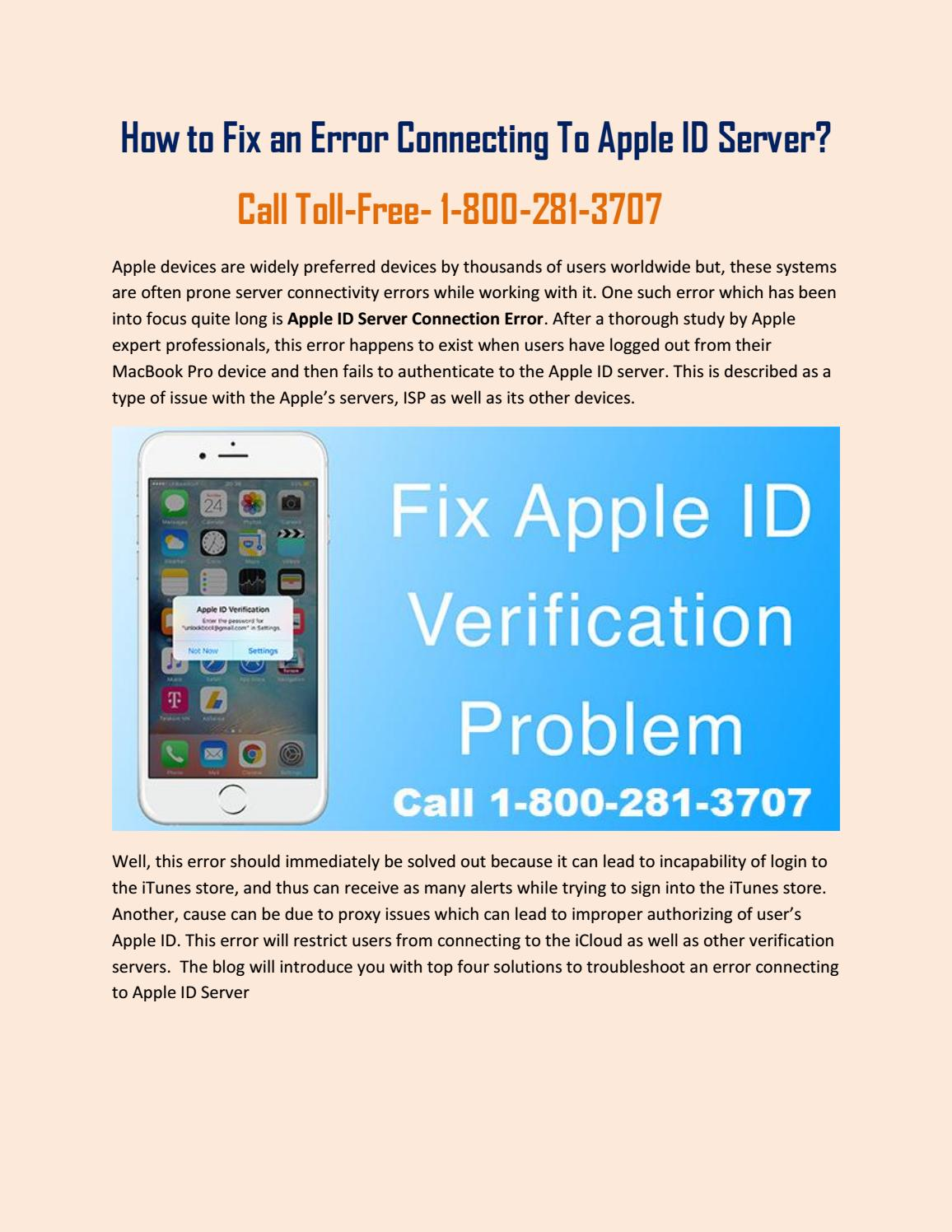 18002813707 Apple Verification Failed- An Error in