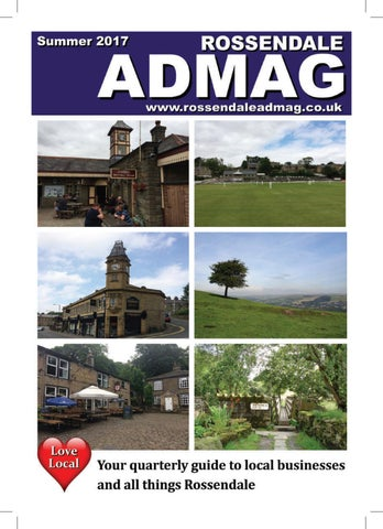 rossendale admag summer by expertwitness issuu