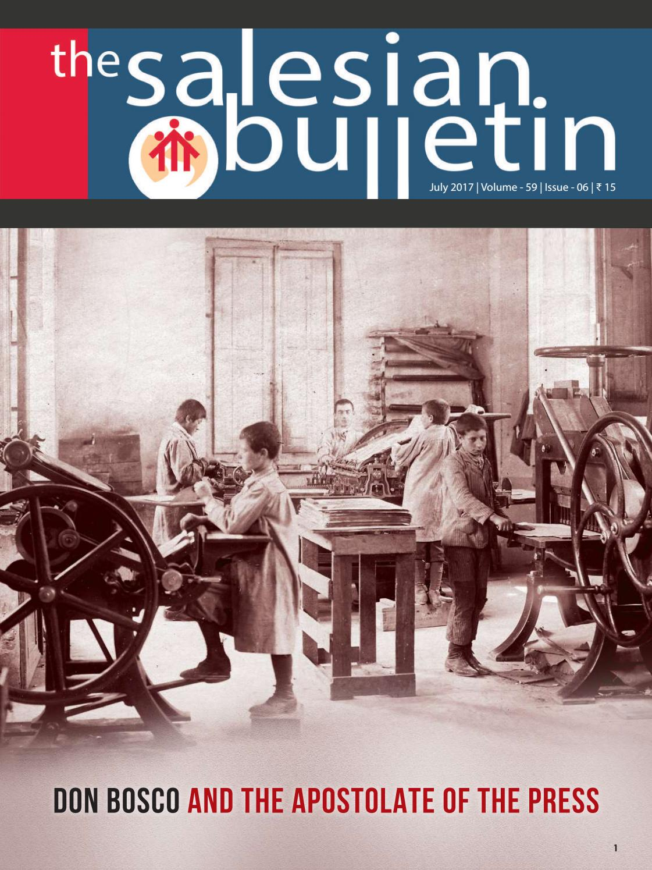 Salesian bulletin - July by Salesian Bulletin India - issuu