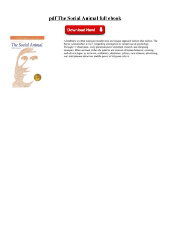 The Social Animal Ebook