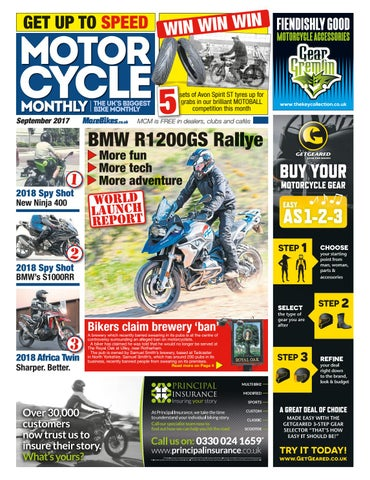 e9783a100 Motorcycle Monthly September 2017 by Mortons Media Group Ltd - issuu