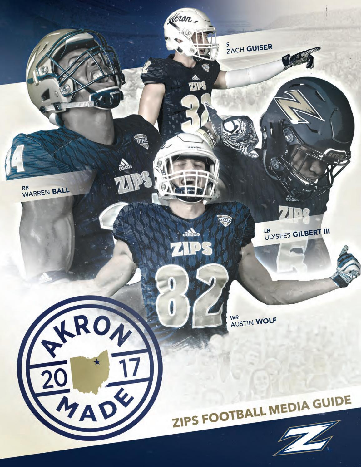 1682ea66d4b 2017 Akron Football Media Guide by Akron Zips - issuu
