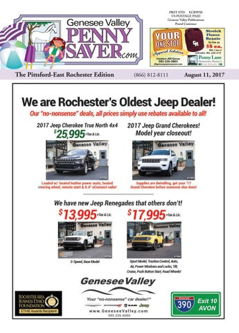 the genesee valley penny saver pittsford east rochester edition 8 11
