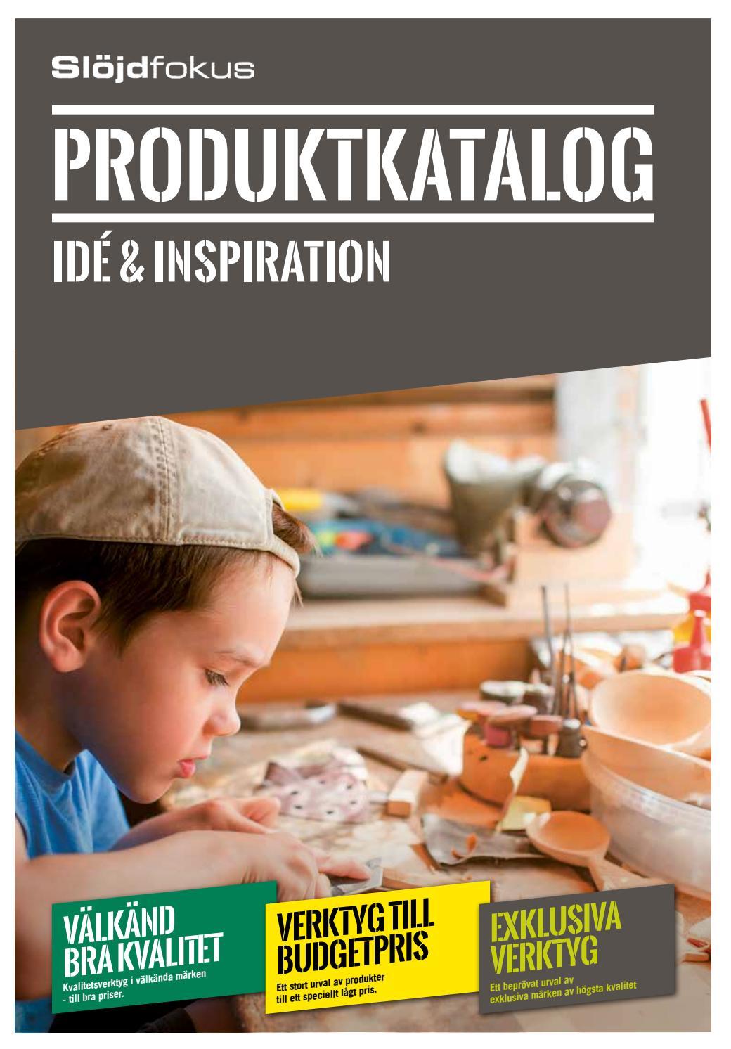 Slojdfokus.se - Produktkatalog 2017 by Linå A S - issuu daf6a57431692