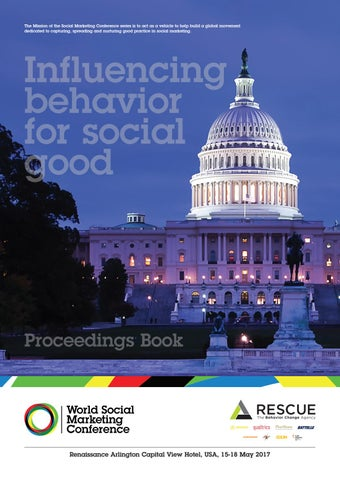 World Social Marketing Conference 2017 Abstracts Book By World