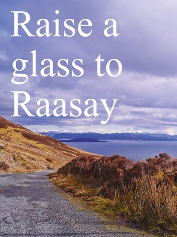 Page 20 of Raise a glass to Raasay