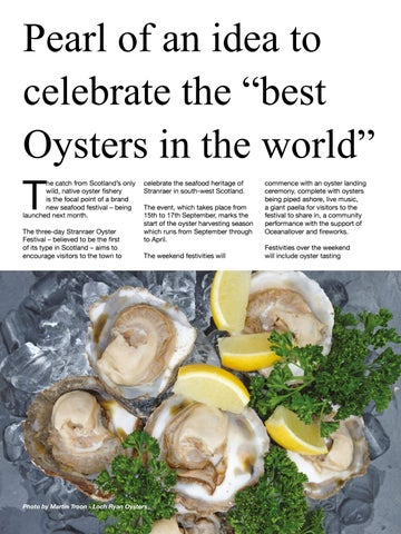 """Page 50 of Pearl of an idea to celebrate the """"best Oysters in the world"""""""