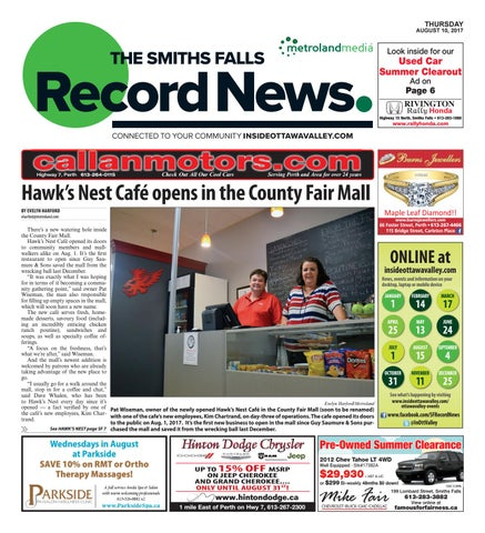 Smithsfalls081017 by metroland east smiths falls record news issuu page 1 fandeluxe Gallery