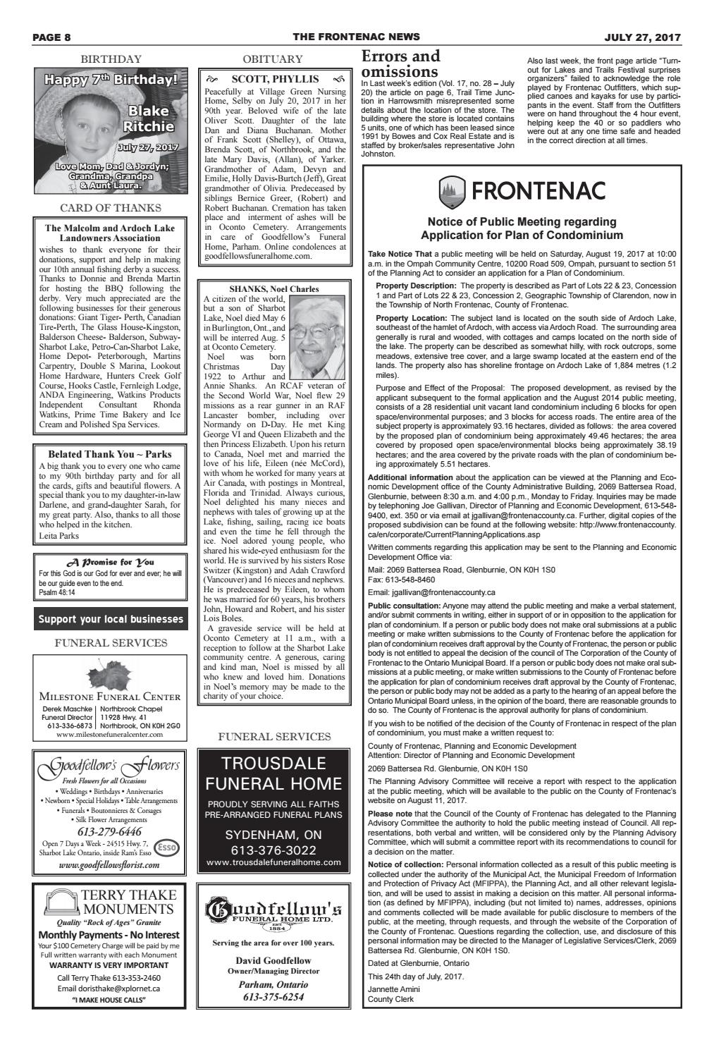 Vol17 No29 By Frontenac News