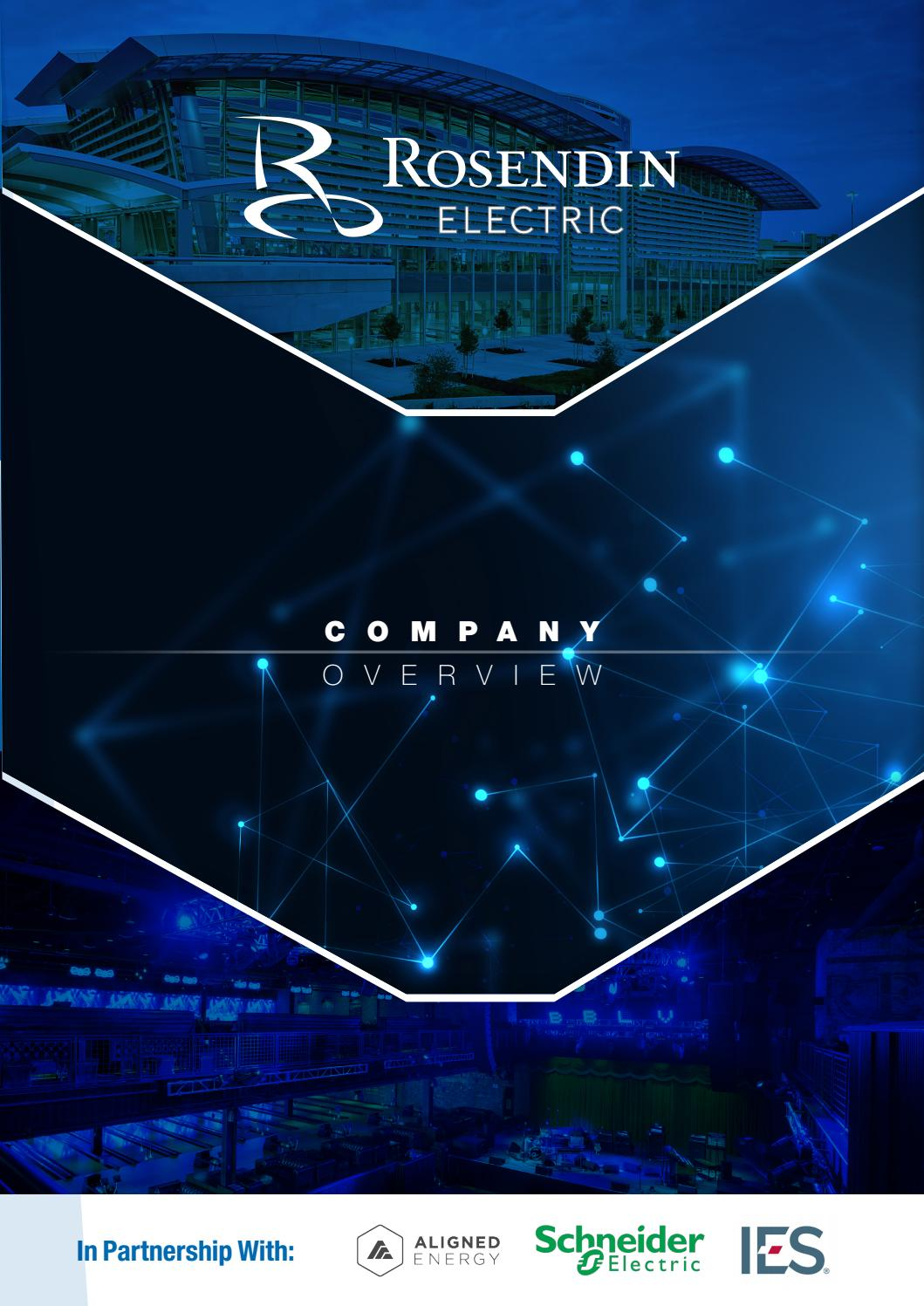 Brochure Rosendin Electric By Business Review Usa Issuu