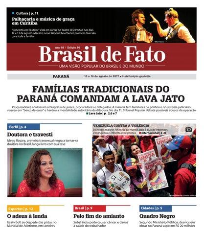 Brasil de Fato PR | Edição 50