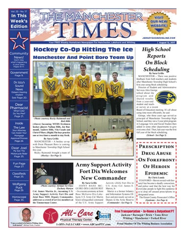 2017 08 12 The Manchester Times By Micromedia Publicationsjersey