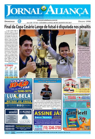b310e818a Edição - 745 by Jornal Aliança - issuu