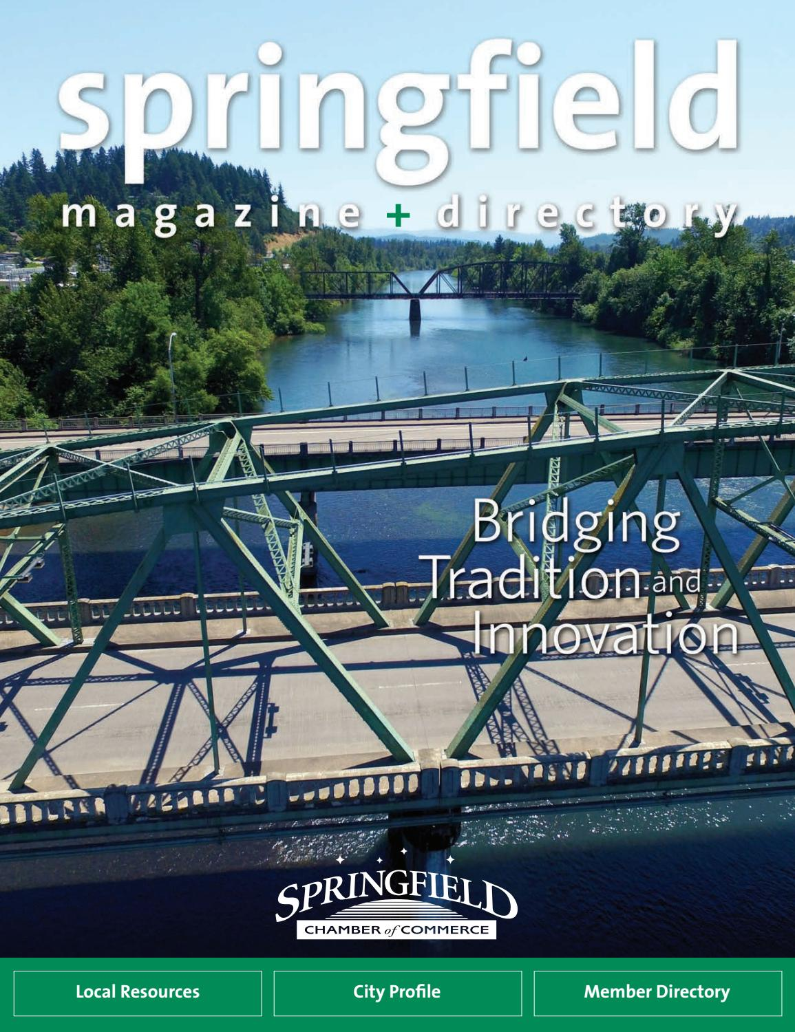 Springfield Magazine + Directory 2017-18 by Springfield Area