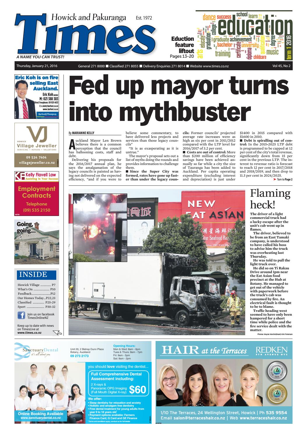 Howick And Pakuranga Times Jan 21 2016 By Media Issuu Slider Excell Rs 1