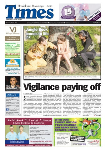 Howick And Pakuranga Times May 5 2016 By Media