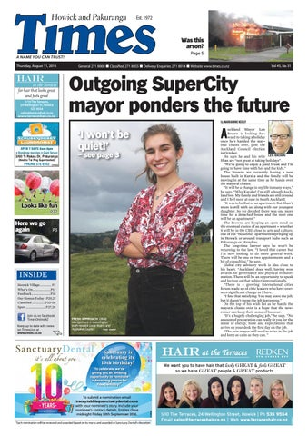 98520ee397d Howick and pakuranga times aug 11 2016 by Times Media - issuu