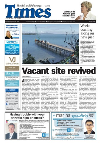 327a2484c5c Howick and pakuranga times oct 20 2016 by Times Media - issuu