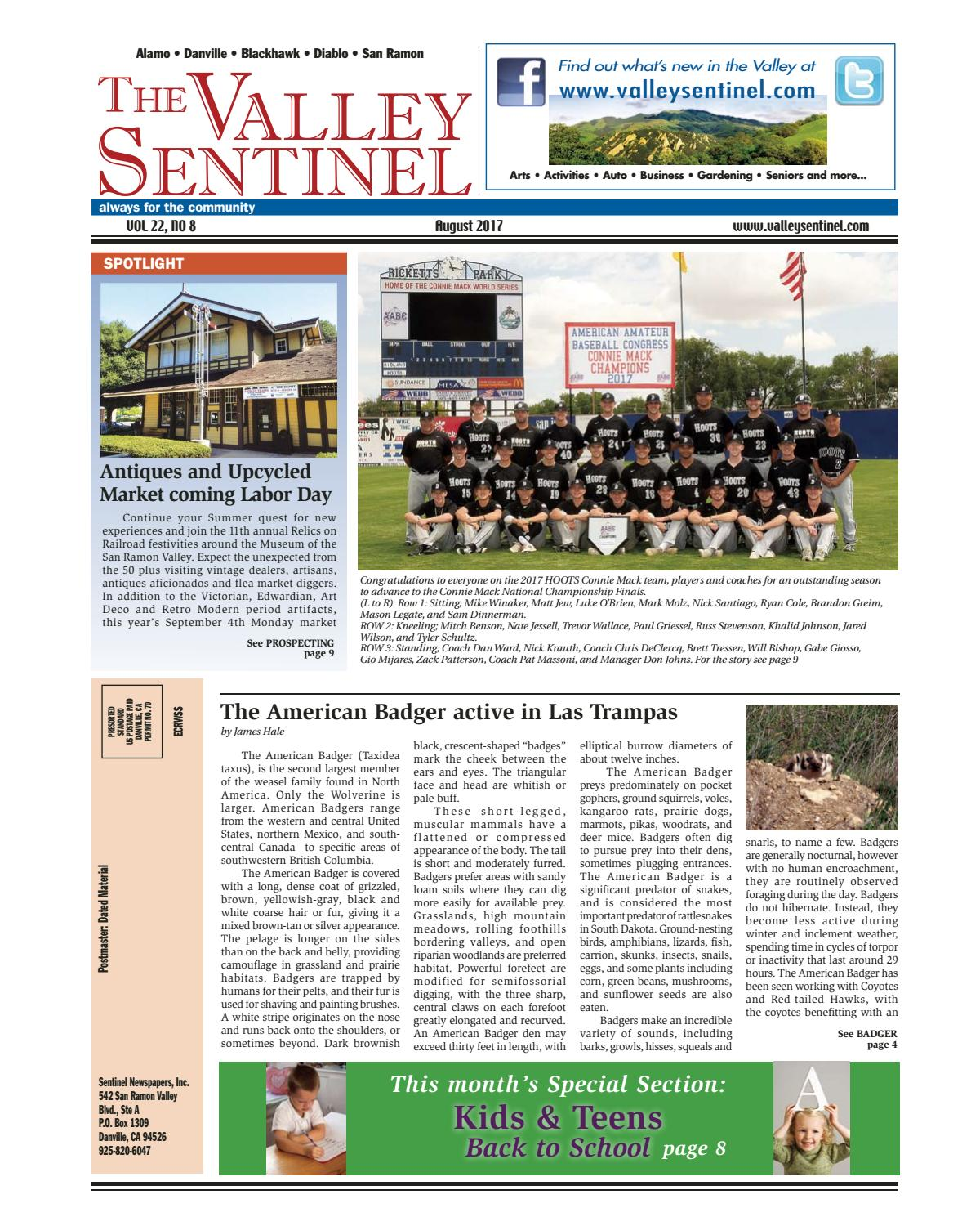 The Valley Sentinel_August 2017 by Sentinel Newspapers - issuu
