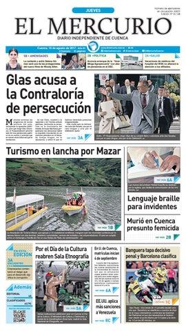 hemeroteca 10-08-2017 by Diario El Mercurio Cuenca - issuu ca84cd45b7c