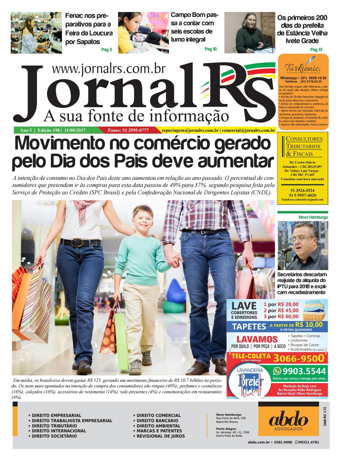 9fc9e1f47 Edição 198 Jornal RS - A Sua Fonte de Informação by Jornal RS A Sua Fonte  de Informação - issuu