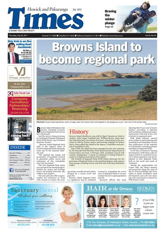 Howick and pakuranga times july 20 2017 by Times Media - issuu