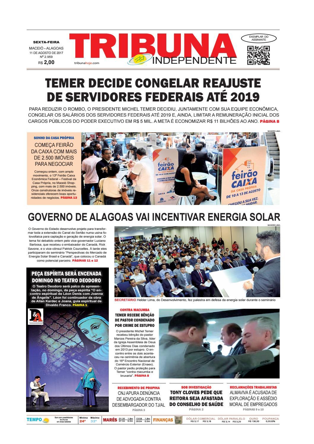 46b6631c7f0 Edição número 2959 - 11 de agosto de 2017 by Tribuna Hoje - issuu