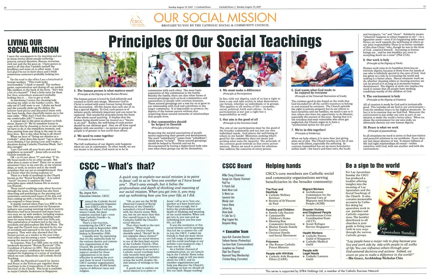 Our Social Mission 2007 2017 by Our Social Mission issuu