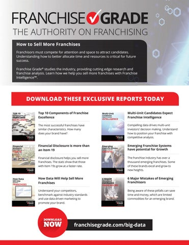 More Space More Attention More Success >> Franchise Update Magazine Issue Iii 2017 By Franchise Update
