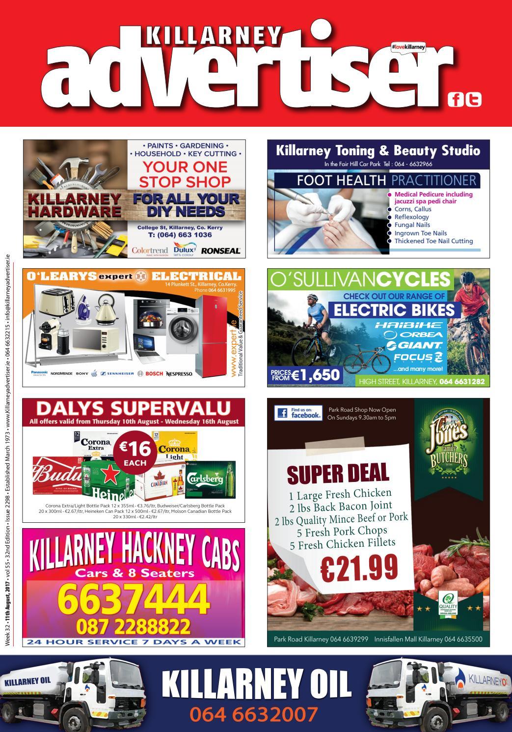 26c2e5a065cb Killarney Advertiser 11th August