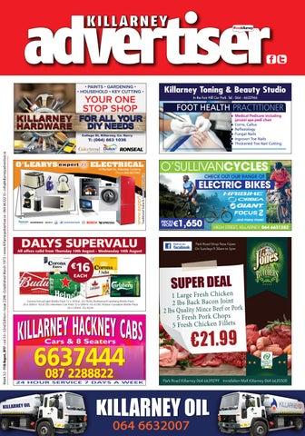 b263a8ec247 Killarney Toning & Beauty Studio In the Fair Hill Car Park Tel : 064 -  6632966