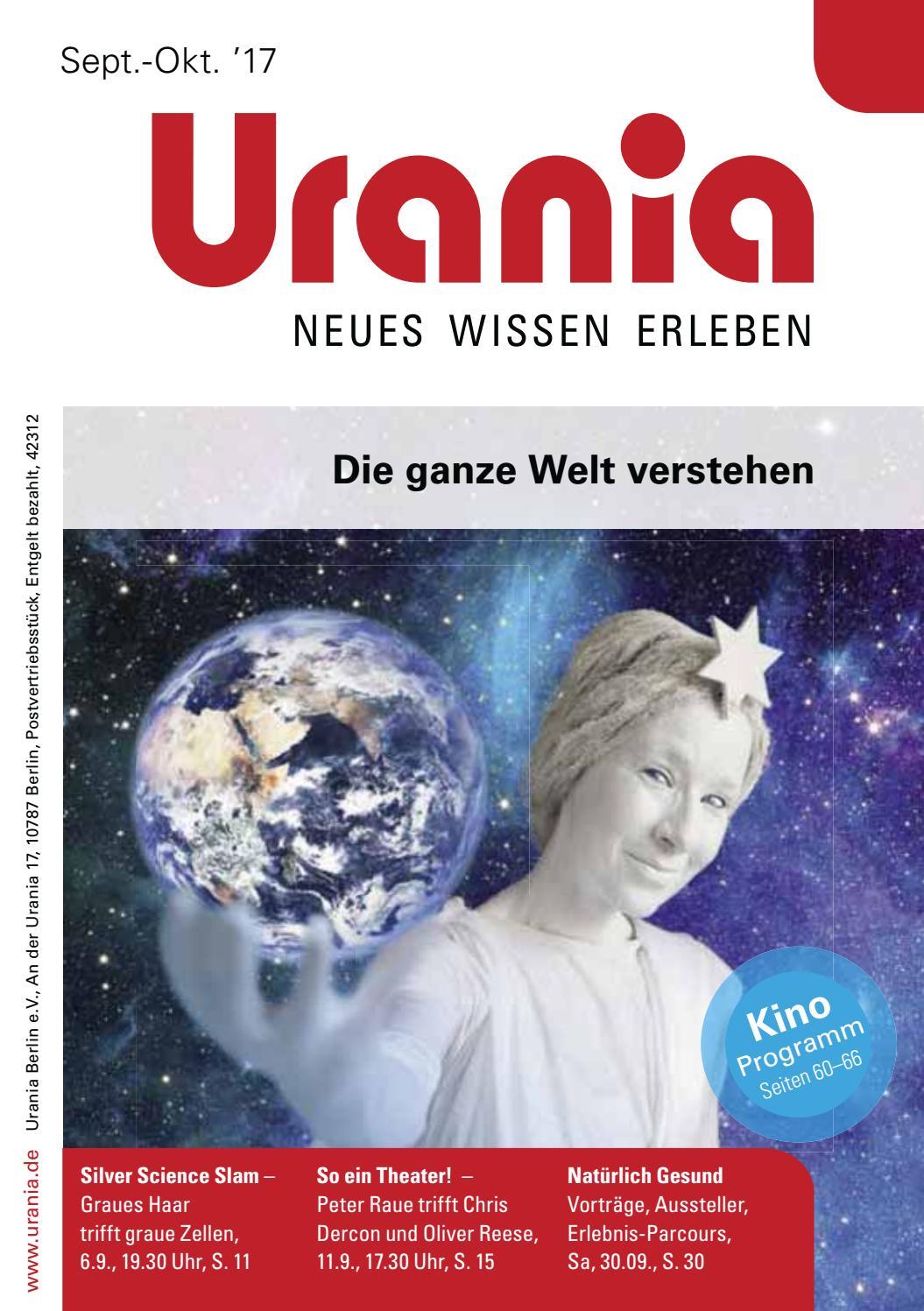 Urania Programmheft Sep Okt 2017 By Urania Berlin Issuu