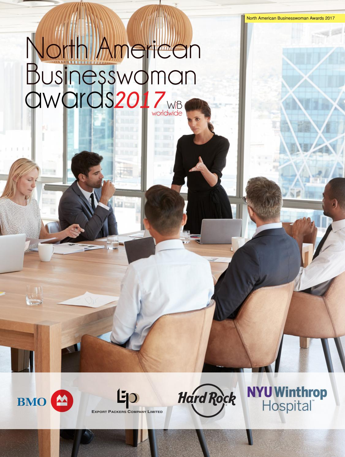 WIB North American Businesswoman Awards 2017 by AI Global Media - issuu