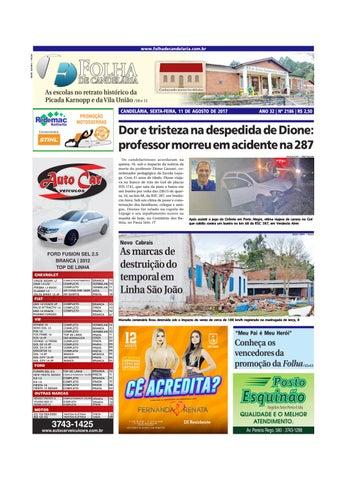 6113faaeb1 Edição n° 2186 (11 08 2017) by Folha de Candelária - issuu