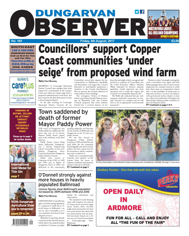 Dungarvan Observer by Dungarvan Observer - issuu