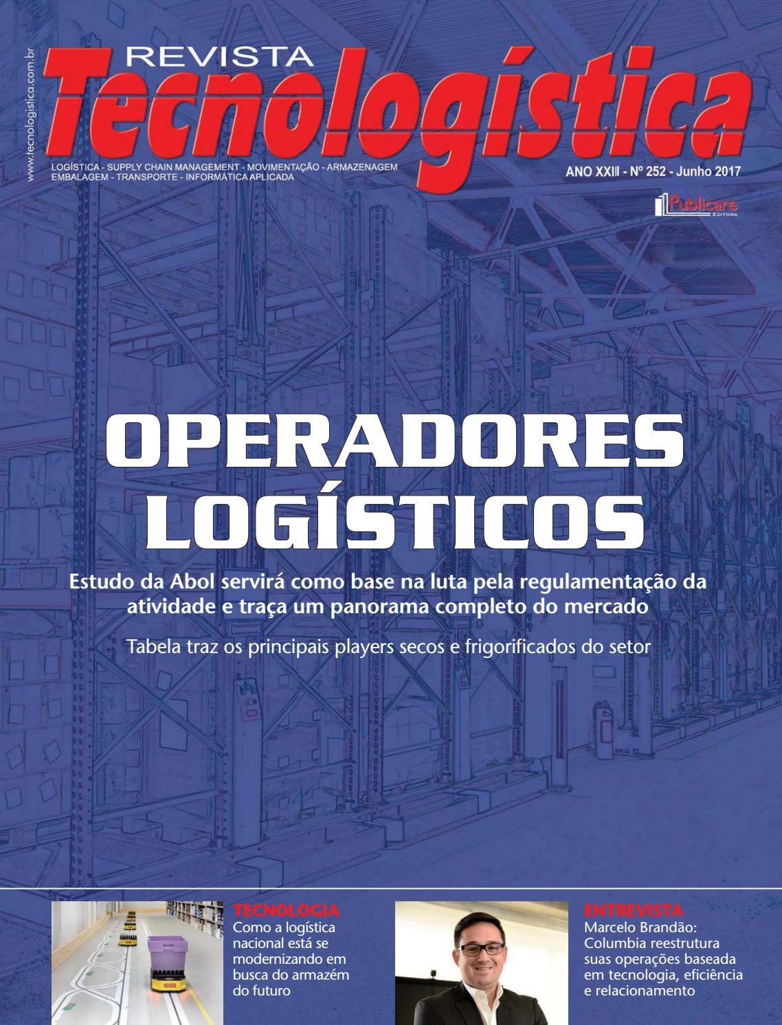 Revista Tecnologística Ed.252 - Junho 2017 by Publicare - issuu f9af4a1184