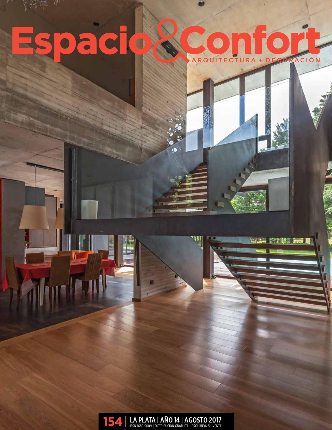 154 Lp Agosto 2017 By Revista Espacio Confort Arquitectura  # Muebles Luberto Mar Del Plata