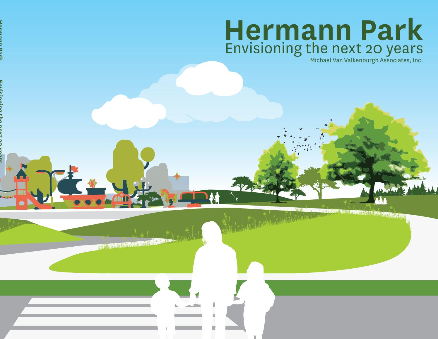 Roses In Garden: Hermann Park Master Plan Executive Summary Draft By