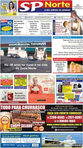 49a13d7ed2e47 Edição 774 - 11 a 17 de agosto de 2017 by Jornal SP Norte - issuu