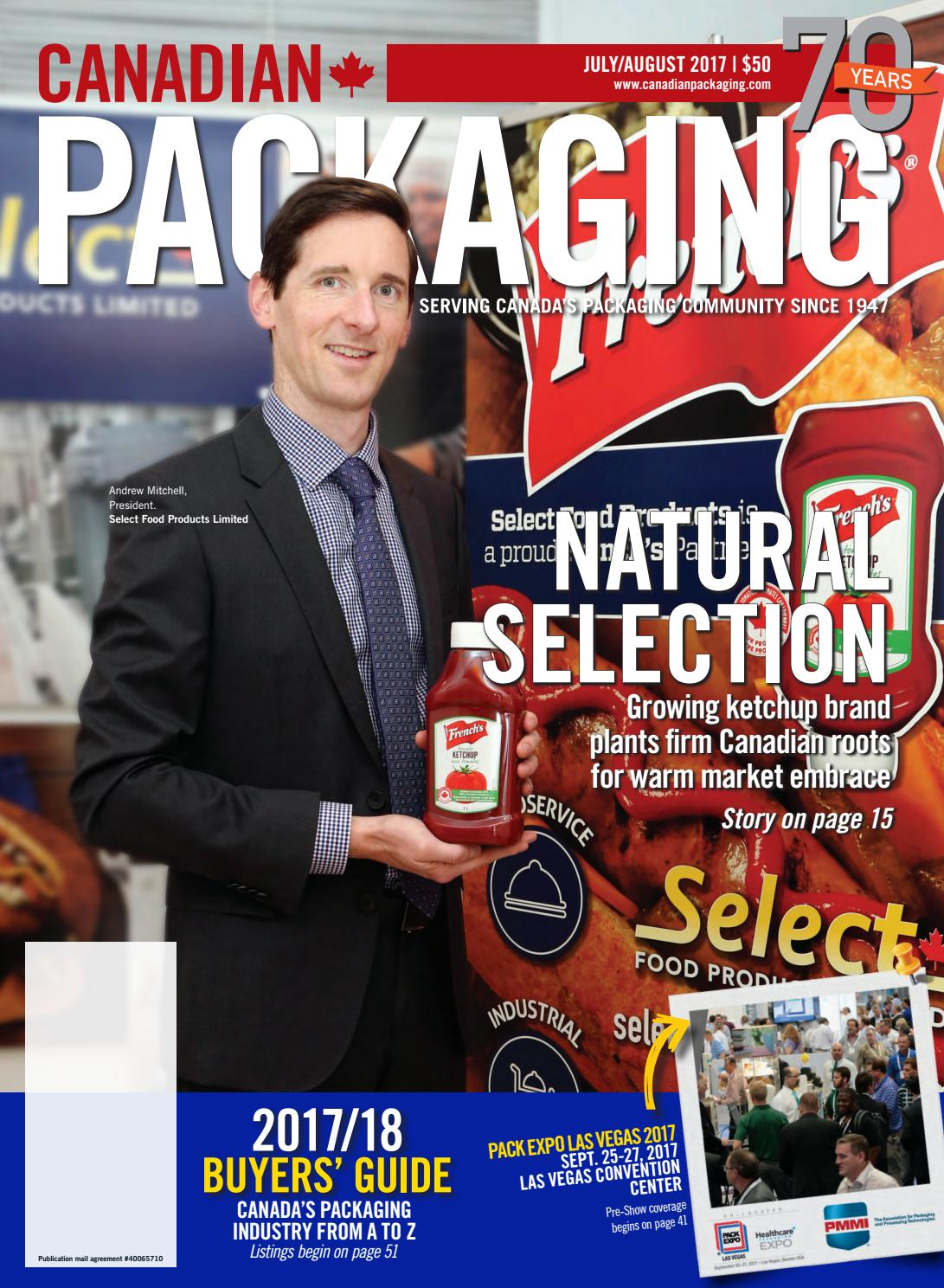 c0528d8b568 Canadian Packaging July August 2017 by Annex Business Media - issuu