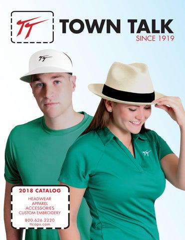 6399233a619 Town Talk Headwear 2018 Catalog by Town Talk Headwear - issuu