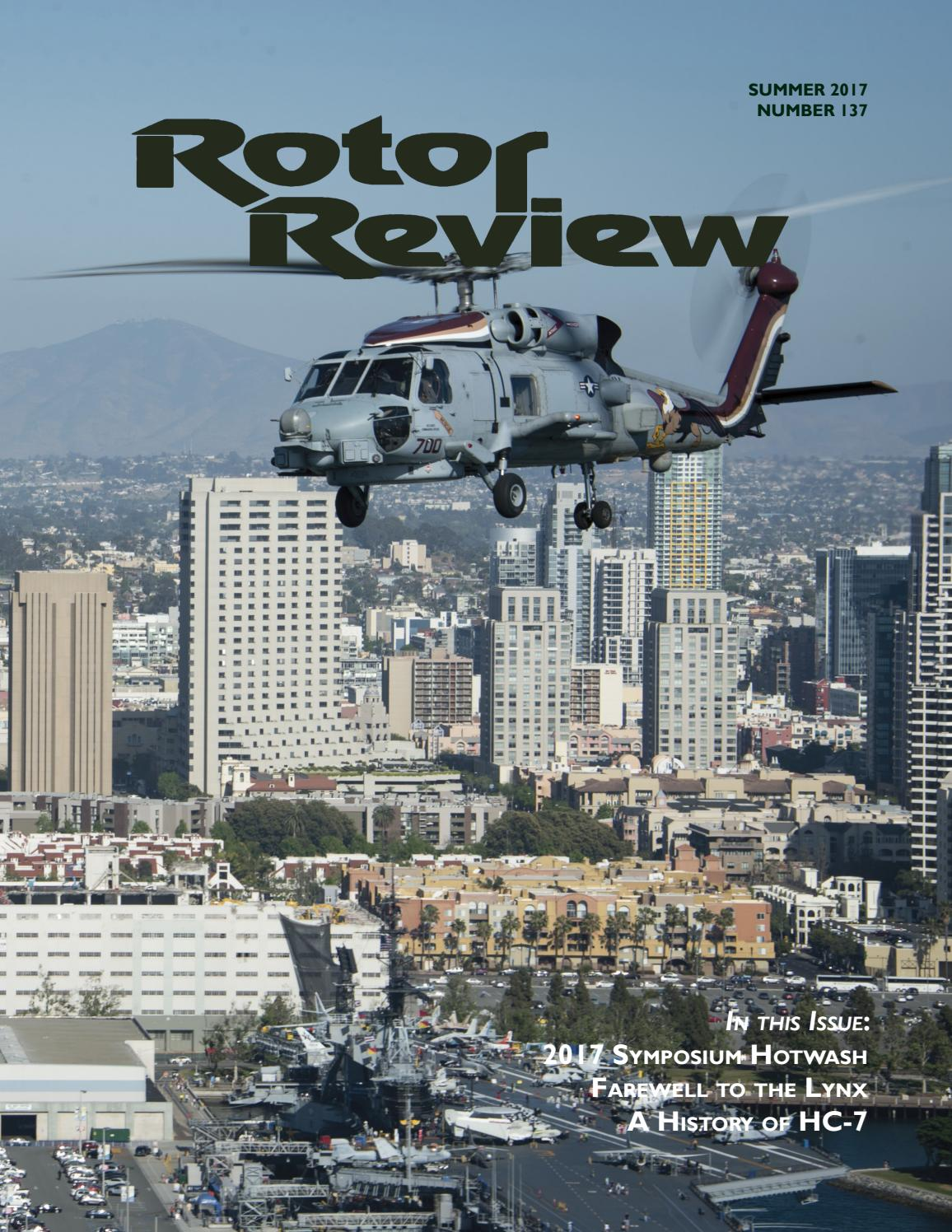 Rotor Review #137 Summer '17 by Naval Helicopter Association