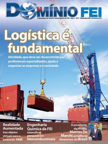 d350b4e84ca Domínio FEI 2  Logística é fundamental by Centro Universitário FEI ...